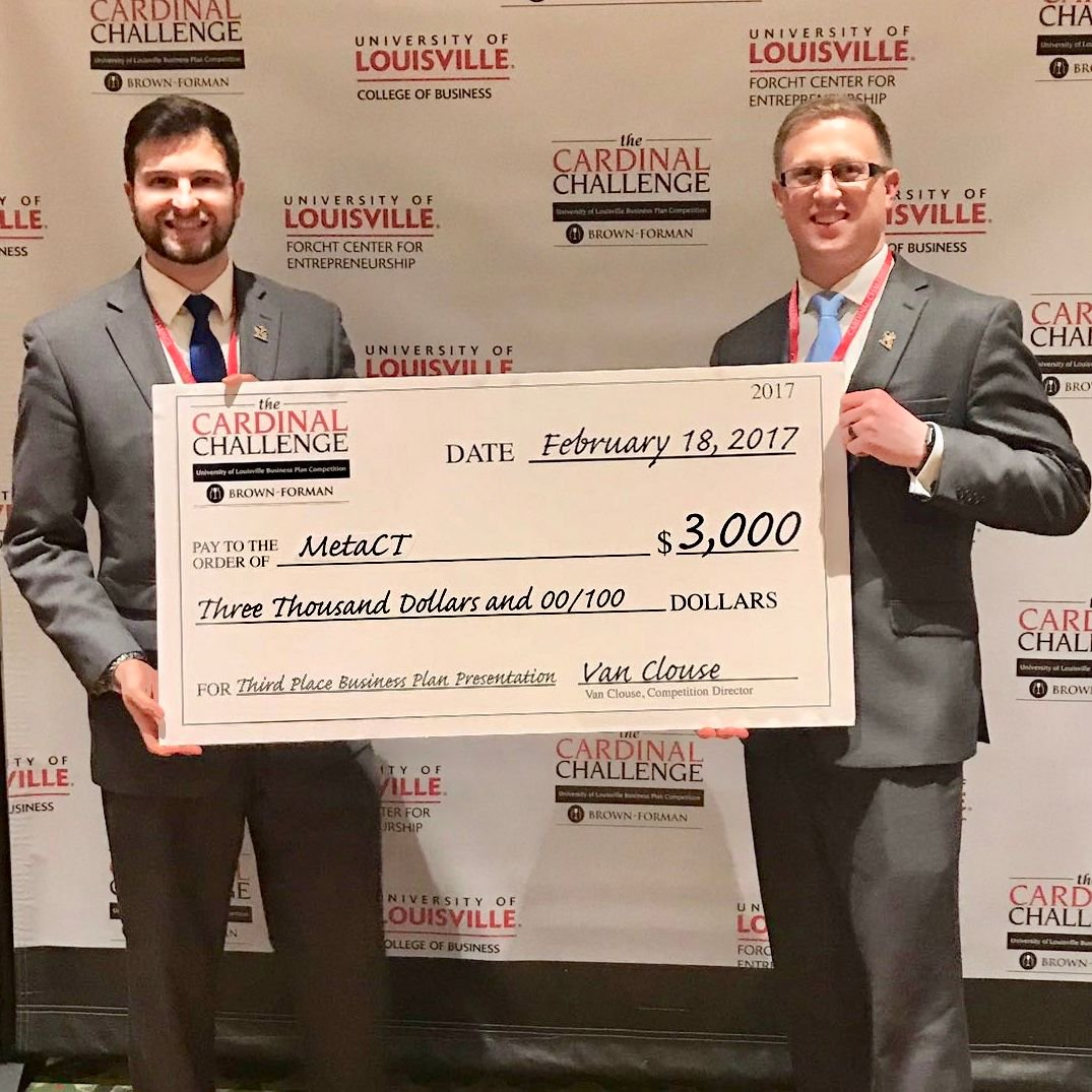 Meta Construction Technologies, LLC - 2017 Cardinal Challenge Business Plan Competition - Asphalt Mobile Tracking and Dispatch Platform